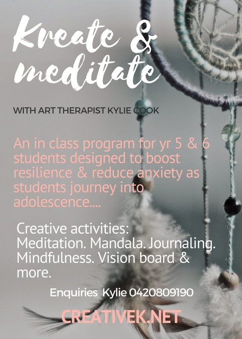 Kreate & Meditate In School Program